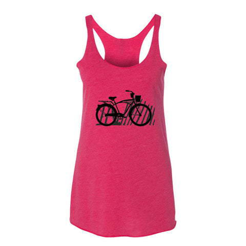 Beach Cruiser Women's tank top