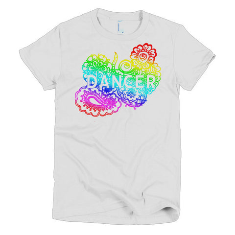 Dance Zen Tangle Short Sleeve Women's T-shirt