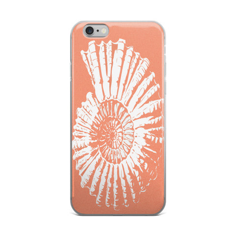 Nautilus Shell  Coastal Phone Case -Includes Shipping