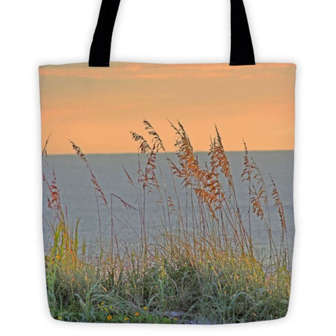 Sunrise on the Ocean Tote bag