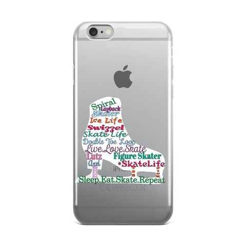 Figure Skating Phone  Case-Includes Shipping