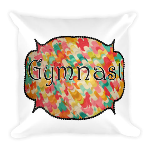 Gymnast Pillow