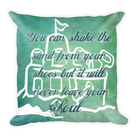 Coastal Quote Pillow