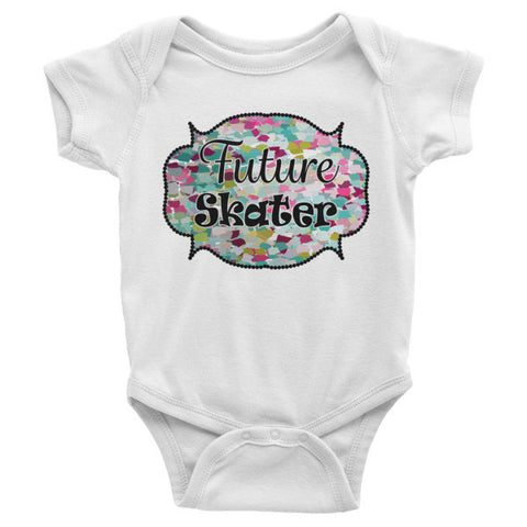 Future Skater-Infant short sleeve one-piece