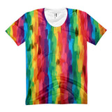 Rainbow Stripe Women's Sublimation T-shirt