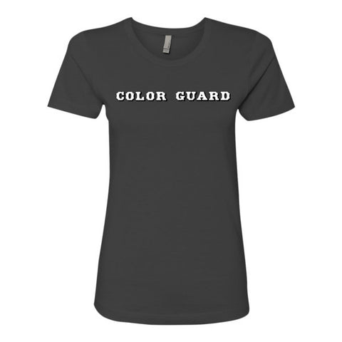 Let Your Colors Fly-Color Guard- Ladies' The Boyfriend Tee