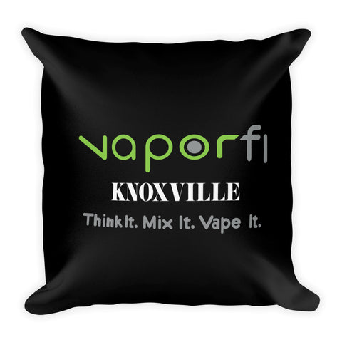 VaporFi Knoxville Black Slogan Premium Pillow
