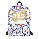 Cheer Swirls and Stars Drawstring Bag- Great for Teams and Squads-Style 2