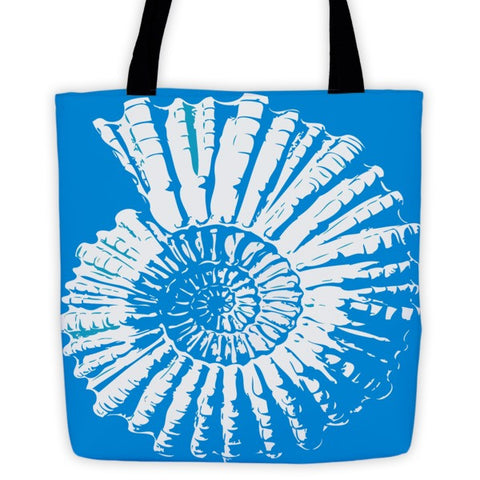 Nautilus Shell  Tote Bag