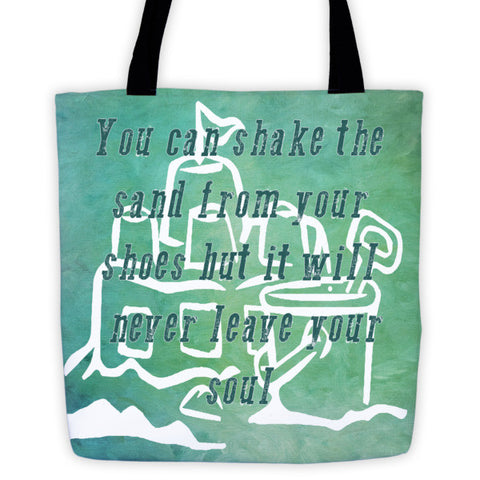 Coastal Inspired Tote bag