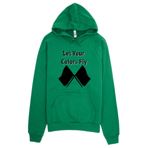 Let Your Colors Fly-Color Guard Hoodie