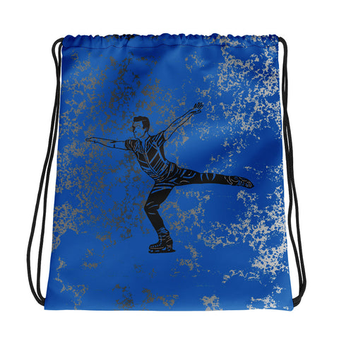 Male Figure Skating Drawstring Bag/ Cinich Sak