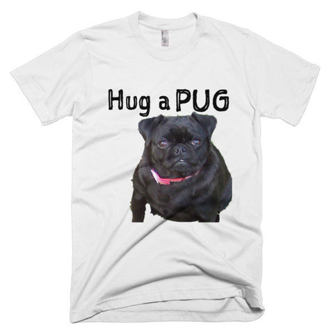 Hug a Pug Short Sleeve Men's T-shirt