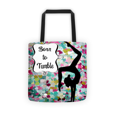 Born to Tumble Tote Bag