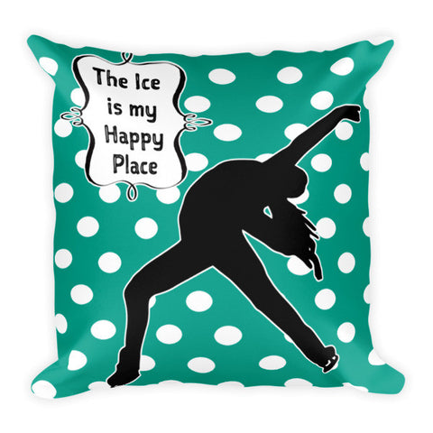 Figure Skating Quote Pillow