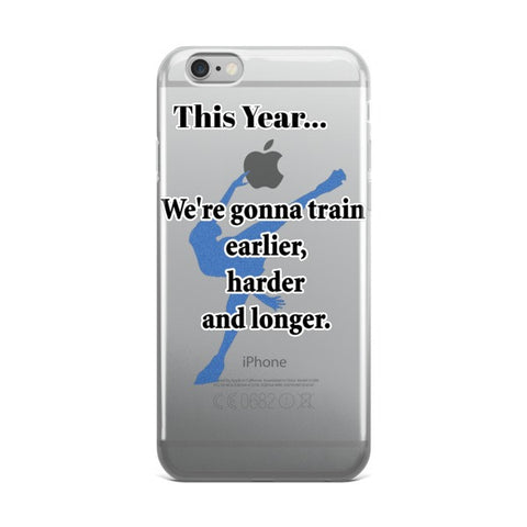 Figure Skating-This Year Quote-Phone Case   -Price includes Shipping