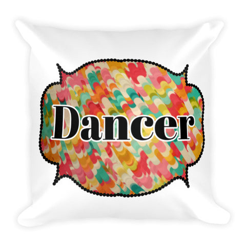 Dancer Pillow