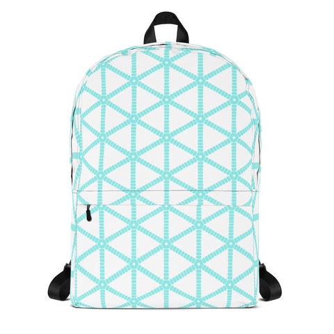 Aqua Grid Backpack