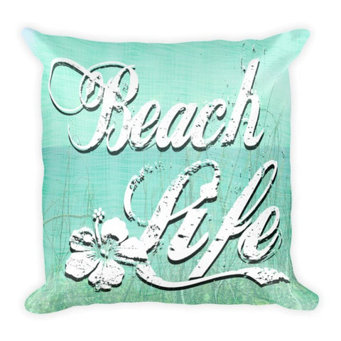 Beach Life Coastal Pillow