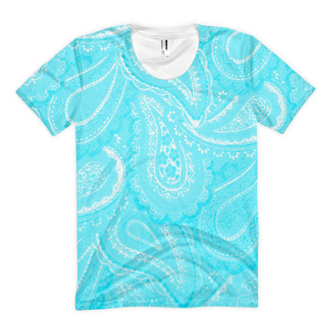 Paisley Women's Sublimation T-shirt