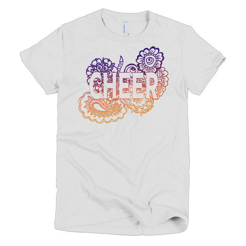 Cheer Zen Tangle Short Sleeve Women's T-shirt
