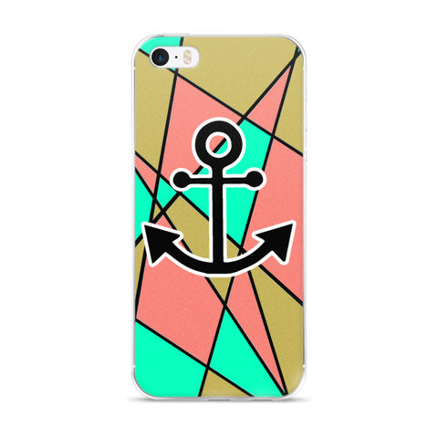 Abstract & Anchor's Phone Case