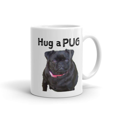 Hug a Pug Coffee Mug