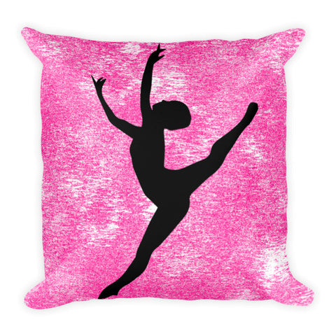 Dance Silhouette Pillow