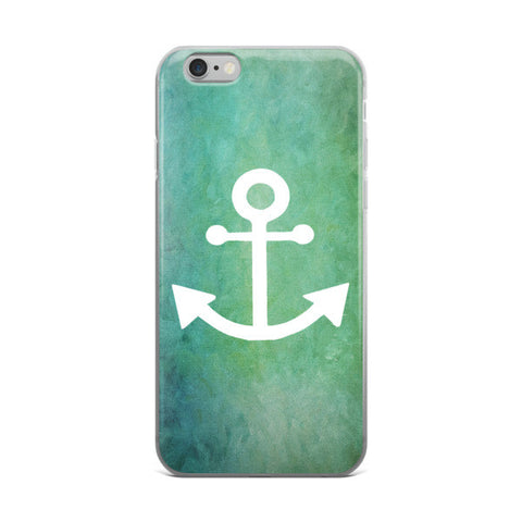 White Anchor Phone Case-Price Includes Shipping