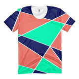 Abstract All-Over Print Women's Sublimation T-shirt