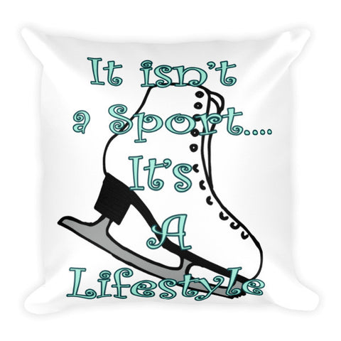 Figure Skating Lifestyle Pillow