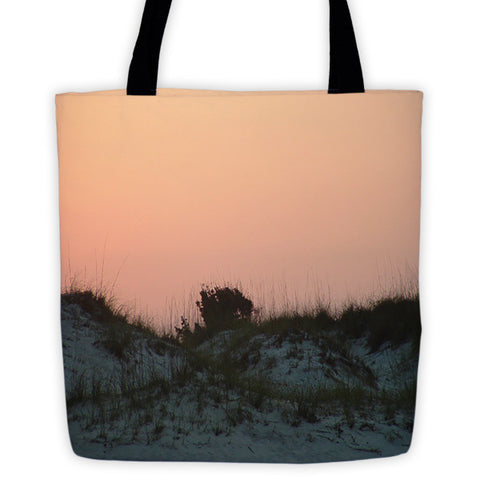 Sunrise on the Sand Dunes Tote bag