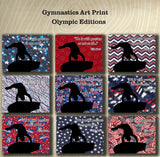 Passion -Gymnastics Poster- Olympic Edition