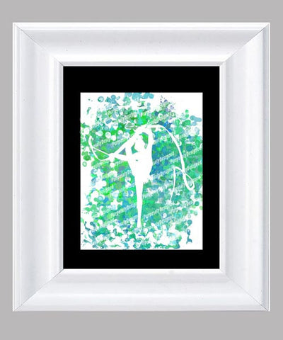 Rhythmic Gymnastics- Fine Art Print- Various Sizes Available