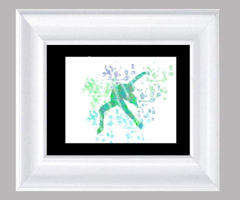 Figure Skating- Fine Art Print- Various Sizes Available