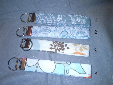 Floral Collection  Fabric  Key Fob's