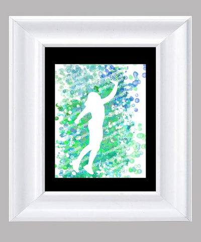Volleyball- Fine Art Print- Various Sizes Available