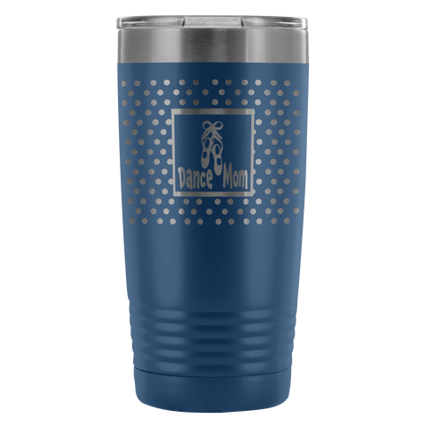 Dance Mom 20 Ounce Etched Tumbler