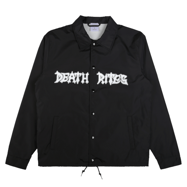 Peace Be With You Coach Jacket Black