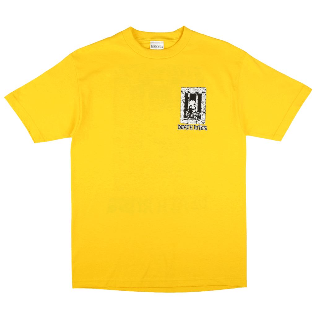 Left to Die S/S T-Shirt Yellow