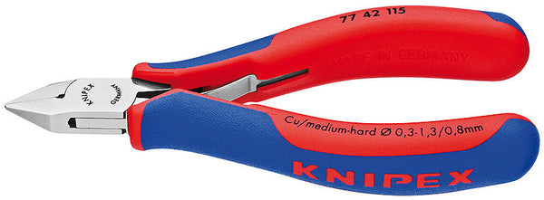 KNIPEX Electronics Diagonal Cutters - 77 42 115