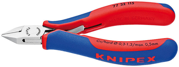 KNIPEX Electronics Pointed Head Diagonal Cutter - 77 32 115