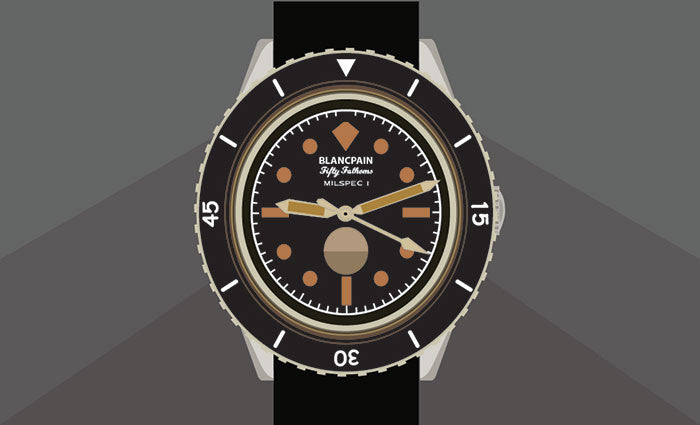 Blancpain Fifty Fathoms: Mil Spec Watches