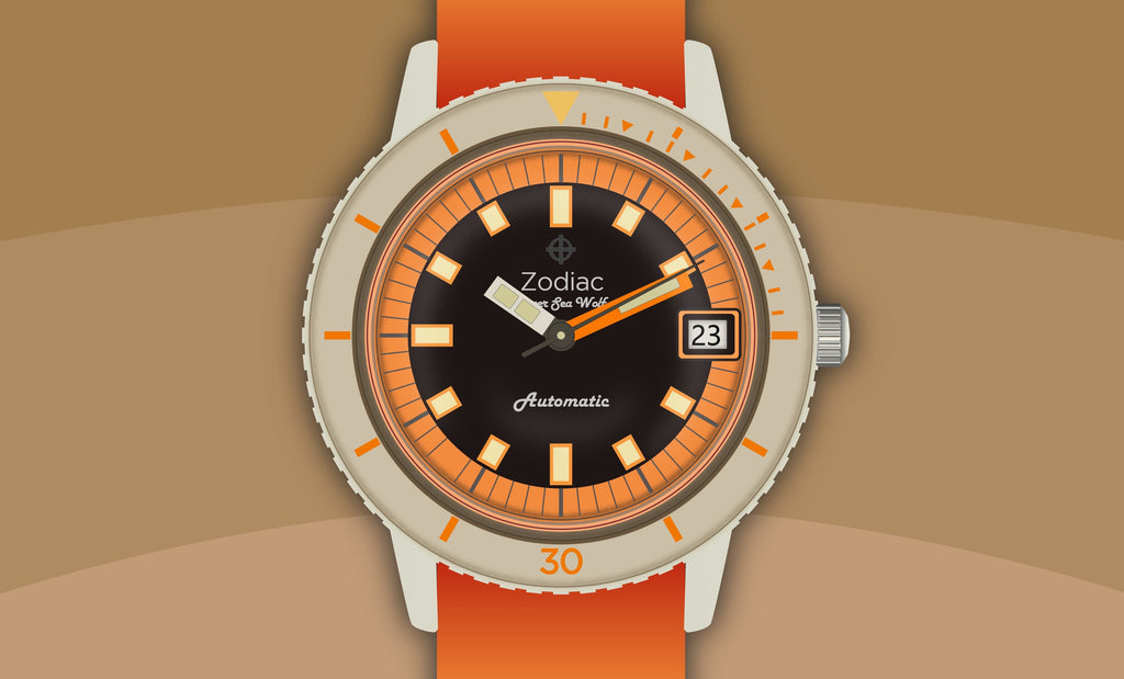 The Classic Zodiac Sea Wolf