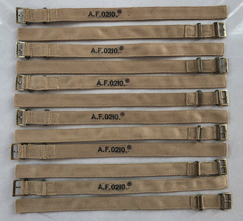 Dirty dozen A.F.0210. straps