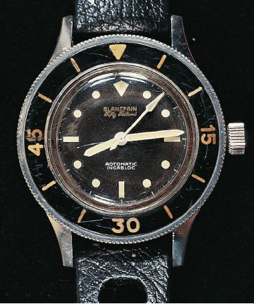 The 1953 Blancpain Fifty Fathoms
