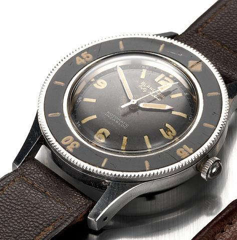 Blancpain 1953 Rotomatic Incabloc sold at an auction