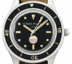 Blancpain Fifty Fathoms Tornek-Rayville TR 900 dial