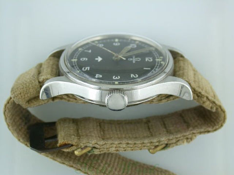Omega 53 with NATO canvas strap.