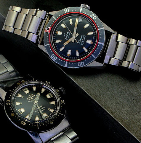 Late 1950's Diver 600 with a later 1960's Diver 600